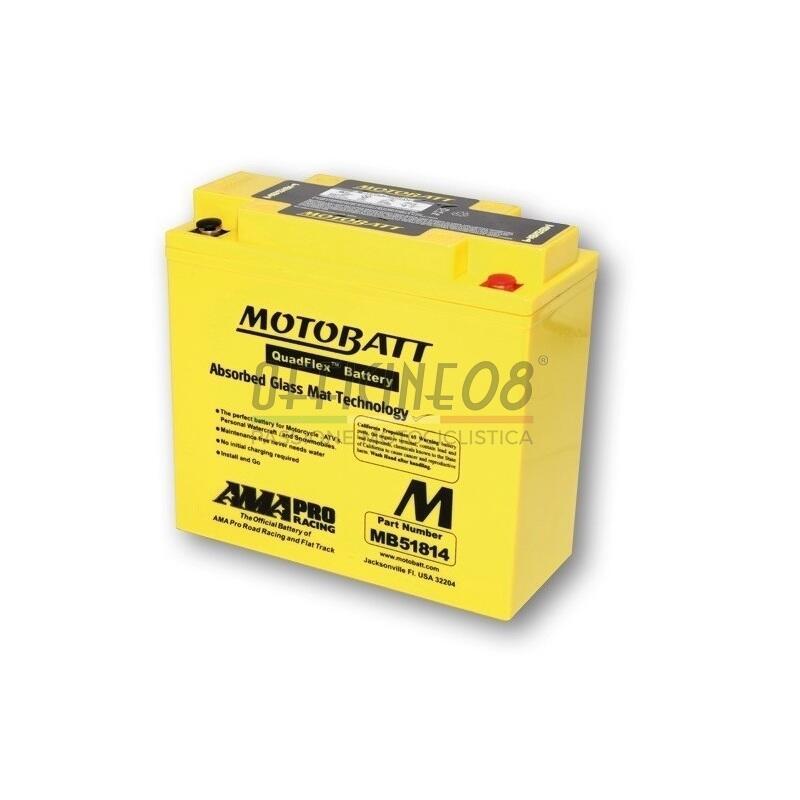 Battery BMW R 45 sealed Motobatt 12V-22Ah