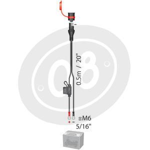 Cavi connessione impermeabile carica batteria permanente