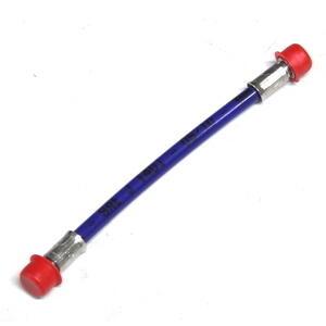 Aeronautical brake hose 15cm blue