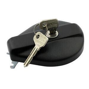 Fuel cap Moto Guzzi Serie Gross lock black