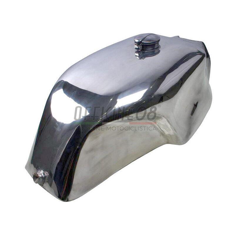 Serbatoio benzina per Moto Guzzi Serie Grossa tappo Monza alluminio