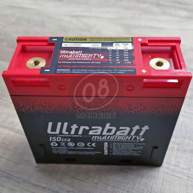 Ultrabatt lithium-ion battery 12V-150A, 8Ah - Pictures 2