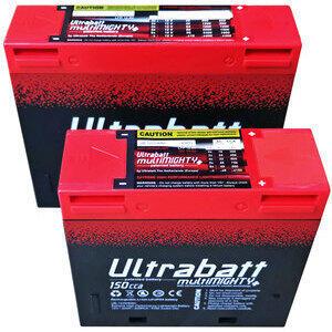 Ultrabatt lithium-ion battery 12V-150A, 8Ah
