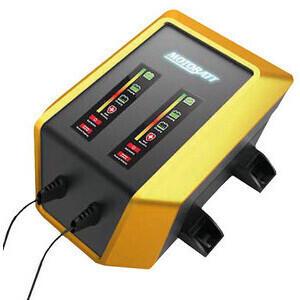 Battery charger Motobatt 2x12V-2Ah