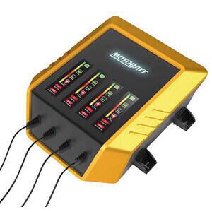 Battery charger Motobatt 4x12V-2Ah