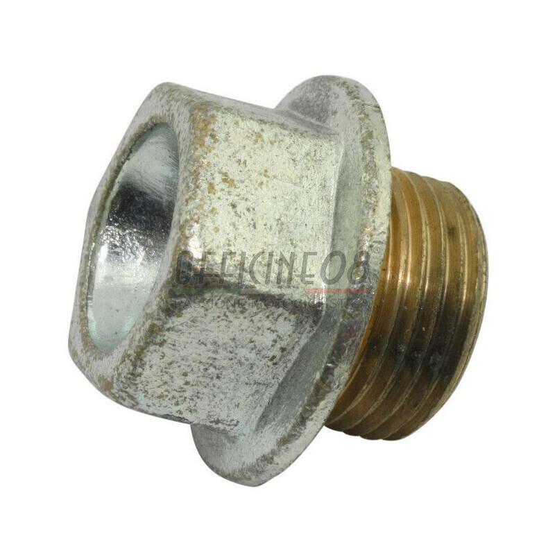 Bullone olio M20x1.5 acciaio