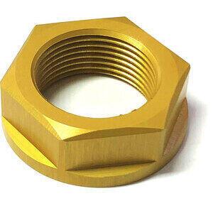 Dado canotto di sterzo M24x1.5 alluminio oro