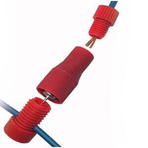 Set 6 connettori 2 vie 1-2,5mm
