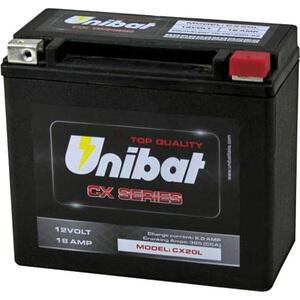 Batteria di accensione Unibat CX20L 12V-18Ah