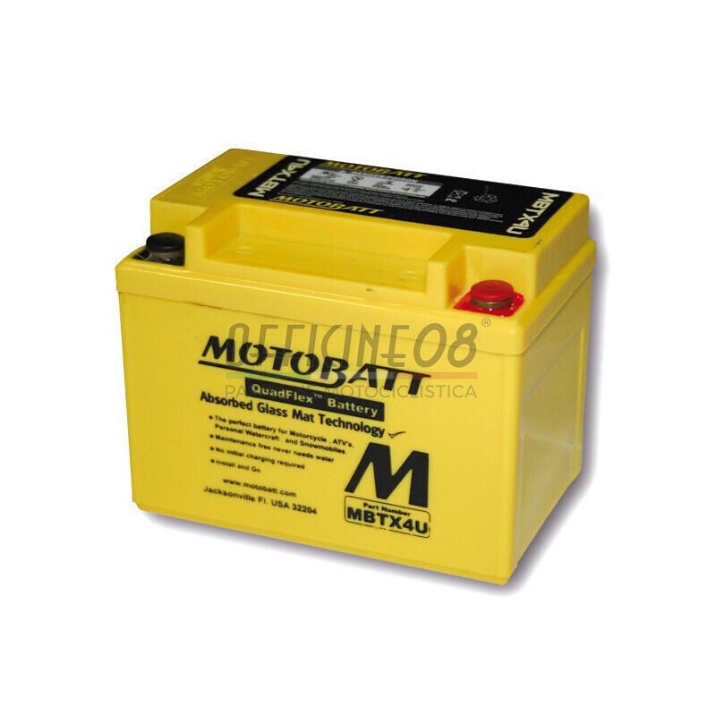 Batteria di accensione MotoBatt MBTX4U 12V-4.7Ah