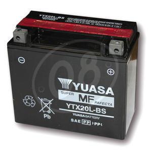 Batteria per Yamaha TX 750 sigillata Yuasa 12V-18Ah