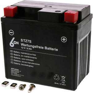 Battery 6-ON YTZ7S 12V-6Ah