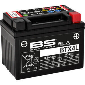 Battery BS Battery BTX4L SLA 12V-4Ah
