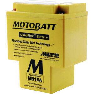 Batteria di accensione Motobatt MB16A 12V-19Ah
