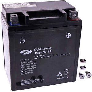Batteria di accensione JMT YB10L-B2 gel 12V-10Ah