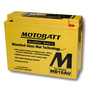 Battery MotoBatt MB16AU 12V-20.5Ah