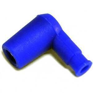 Cappuccio candela Ariete 90° blu