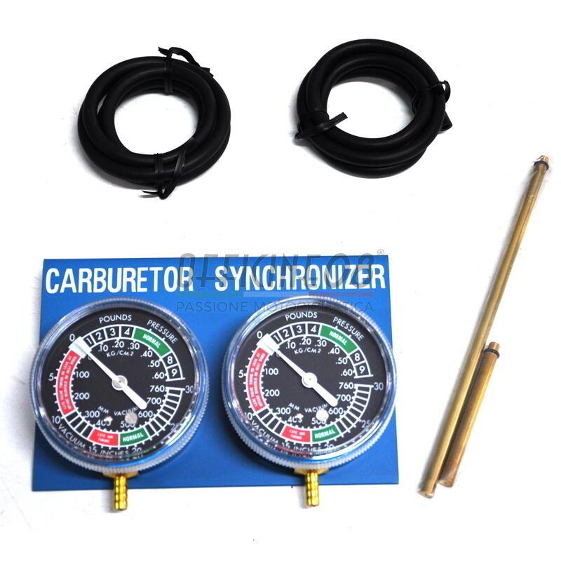 Sincronizzatore carburatori 2 cilindri meccanico