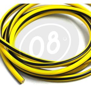 Cavo candela 7mm siliconato giallo/nero - Foto 2