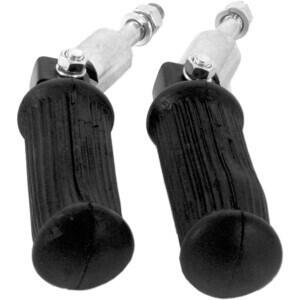 Rider/passenger footpegs Old Style folding pair