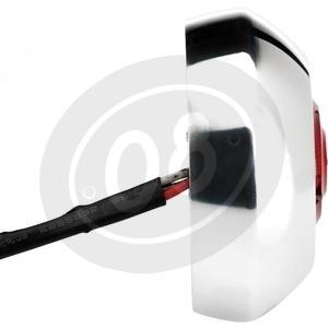 Fanalino posteriore led Model C cromo - Foto 2