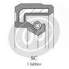 Engine oil seal SC 40x22x7mm - Pictures 2