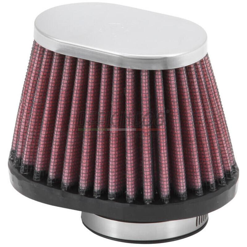 Filtro a trombetta 43x70mm conico ovale K&N