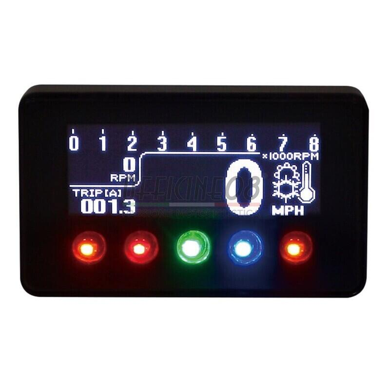 Electronic multifunction gauge Koso D1-Oled - Pictures 3