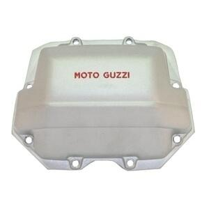 Coperchio distribuzione per Moto Guzzi Serie Grossa Teste Quadre grigio