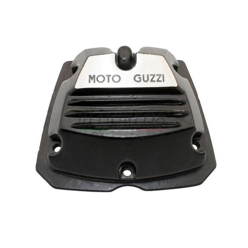 Coperchio distribuzione per Moto Guzzi Serie Piccola 2V nero