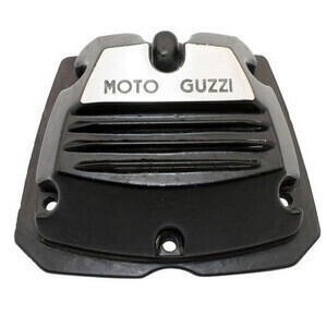 Cylinder head cover Moto Guzzi Serie Piccola 2V black