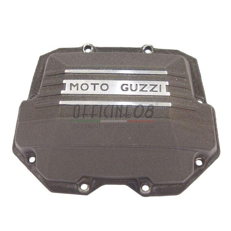 Coperchio distribuzione per Moto Guzzi Serie Grossa Teste Quadre antracite