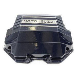 Coperchio distribuzione per Moto Guzzi Serie Grossa Teste Quadre blu