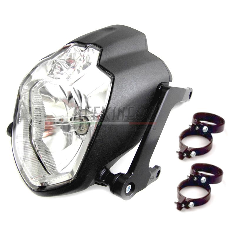 Halogen headlight LSL Urban kit 43mm black