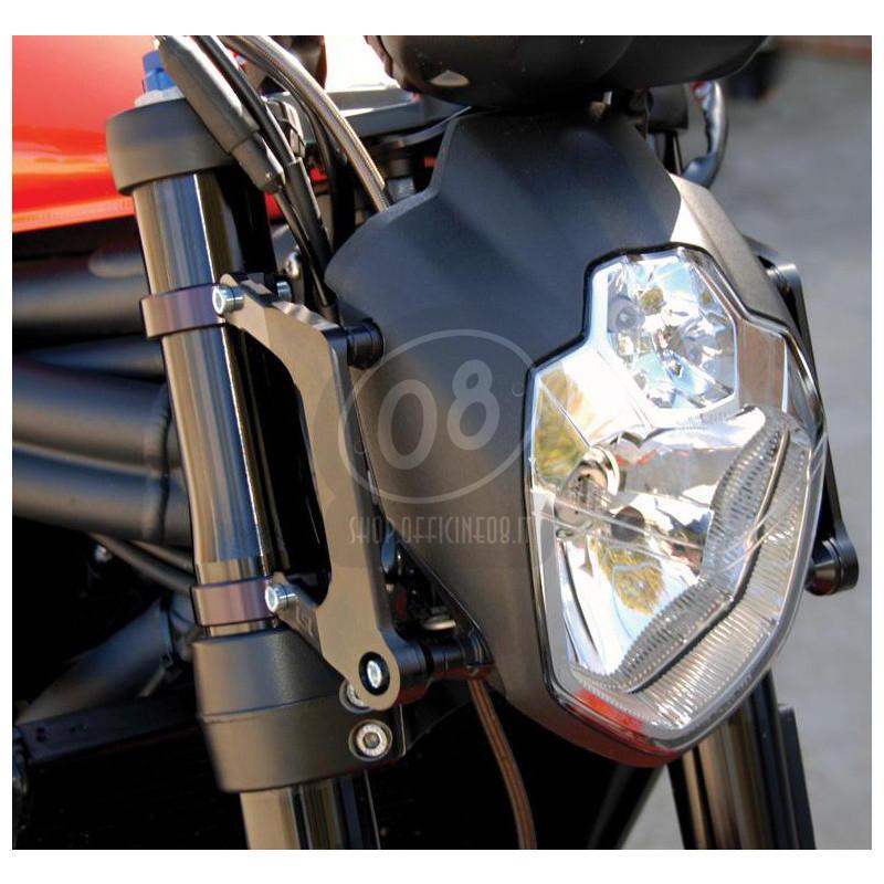 Halogen headlight LSL Urban kit 43mm black - Pictures 2
