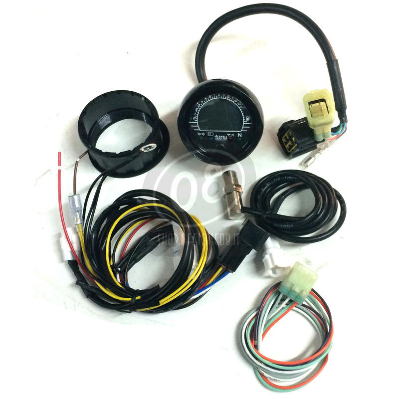 Electronic multifunction gauge AceWell MD52 - Pictures 3