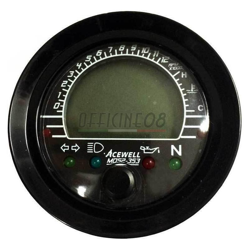 Ectronic multifunction gauge AceWell MD52