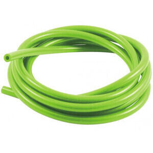 Carburetor vent hose 3x7mm green lime
