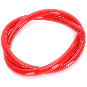 Fuel hose 8x12mm high pressure red