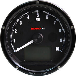 Electronic multifunction gauge Koso Classic 10K