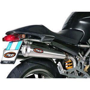 Finale di scarico per Ducati Monster 600 Marving Racing Steel alti coppia