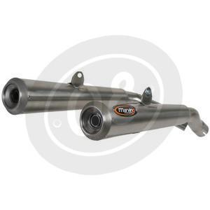Exhaust muffler Ducati Monster 600 Marving Racing Steel chrome high pair