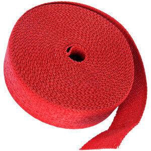 Benda termica collettori di scarico 416° rosso 50mm 15mt