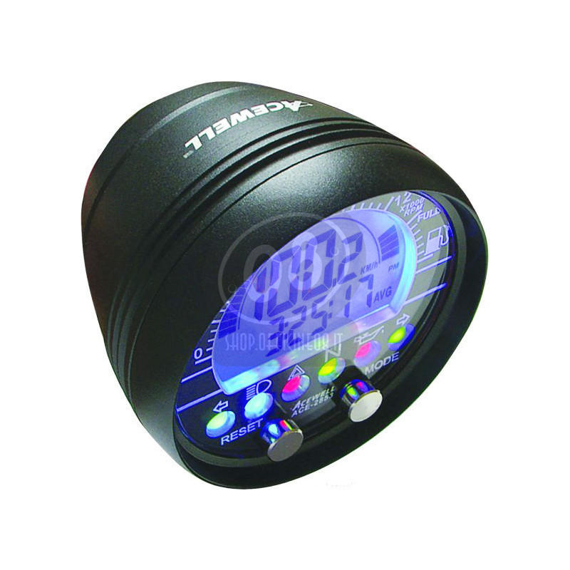Electronic multifunction gauge AceWell 2853 with cup - Pictures 2