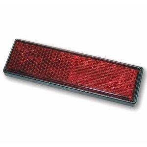 Catarifrangente posteriore 94x28mm autoadesivo rosso