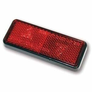 Catarifrangente posteriore 91x36mm M5 rosso