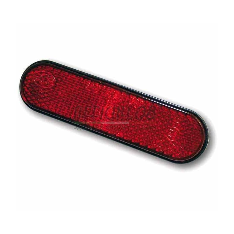 Catarifrangente posteriore 95x25mm rosso