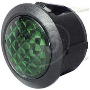 Spia led Old Style 22mm verde
