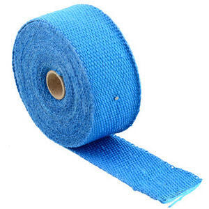 Exhaust pipe wrap 416° blue 50mm 5mt