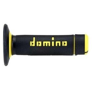 Coppia manopole Tommaselli Off Road A020 22mm nero/giallo